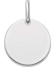 Thomas Sabo LBPE0001-001-12 Ladies Love Bridge 925 Sterling Silver Pendant