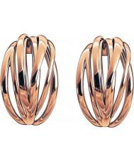 Calvin Klein KJ1RPE100100 Ladies Crisp Rose Gold Plated Earrings