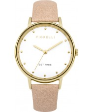 Fiorelli FO032CG Ladies Nude Leather Strap Watch