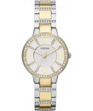 Fossil ES3503 Ladies Virginia Two Tone Steel Bracelet Watch