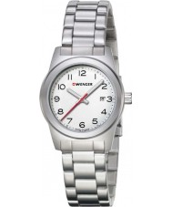 Wenger 01-0411-134 Ladies Field Color Silver Steel Bracelet Watch