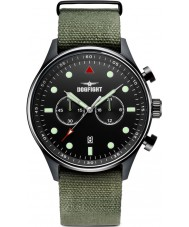 Dogfight DF0026 Mens Ace Green Fabric Chronograph Watch