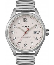 Timex Originals T2N311 Mens Pink Silver T Series Expander Watch