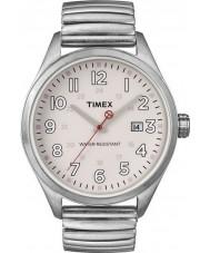 Timex Originals T2N311 Mens Pink Silver T Series Expander Watch