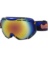 Bolle 21146 Emperor Blue and Orange - Sunrise Ski Goggles