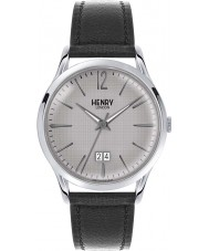 Henry London HL41-JS-0081 Mens Piccadilly Grey Crosshatch Black Watch