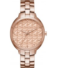 Karl Lagerfeld KL4606 Ladies Kuilted Rose Gold Plated Bracelet Watch