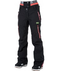Picture WPT030-BLANP-XS Ladies Exa Black Neon Pink Pants - Size XS