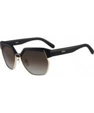 Chloe Ladies CE665S Black Sunglasses