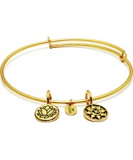 Chrysalis CRBT0006GP Mantra 14ct Gold Plated Expandable Bangle