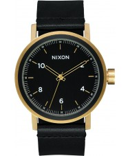 Nixon A1194-1031 Mens Stark Leather Watch