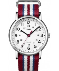 Timex Originals T2N746 Three Tone Weekender Slip Through Watch