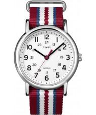 Timex Originals T2N746 Three Tone Weekender Slip Through Watch