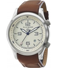 Elliot Brown 202-003-L03 Mens Canford Brown Leather Strap Watch