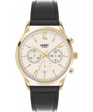 Henry London HL41-CS-0018 Mens Westminster Pale Champagne Black Chronograph Watch