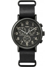 Timex Originals TW2P62200 Weekender Black Strap Chronograph Watch