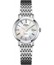 Rotary LB05300-07 Ladies Timepieces Windsor Silver Tone Steel Watch