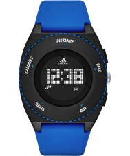 Adidas Performance ADP3201 Mens Sprung Blue Matte Silicone Strap Watch