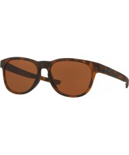 Oakley OO9315-2 Stringer Matte Brown Tortoiseshell - Dark Bronze Sunglasses