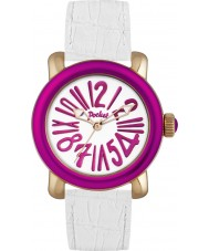 Pocket PK2010 Ladies Rond Classique Medio White Watch