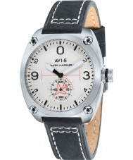 AVI-8 AV-4026-01 Mens Hawker Harrier II Black Leather Strap Watch