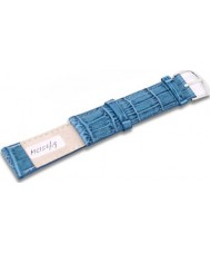Krug Baümen MC15619G Sea Blue Leather Replacement Mens Principle Strap