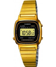 Casio LA670WEGA-1EF Collection Gold Plated Digital Watch