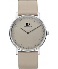 Danish Design V14Q1117 Ladies Grey Leather Strap Watch