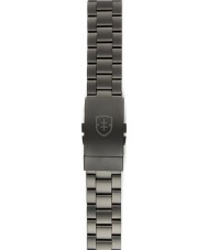 Elliot Brown STR-B05 Mens Bloxworth Gunmatel Steel Sandblast Strap