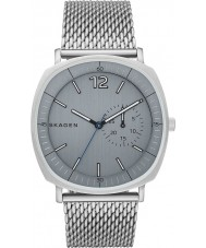 Skagen SKW6255 Mens Rungsted Silver Steel Mesh Bracelet Watch