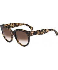 Celine Ladies CL 41755-S 3Y7 X9 Havana Honey Sunglasses