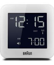 Braun BNC009WH-RC Global Radio Controlled Alarm Clock - White