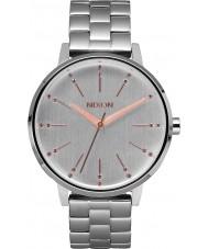 Nixon A099-1519 Ladies Kensington Silver Champagne Crystal Watch
