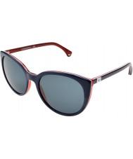 Emporio Armani EA4043 55 Essential Leisure Blue Red 535287 Sunglasses