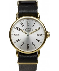 Camden Watch Company CWC-88-21A-L2A No 88 Black Leather Strap Watch