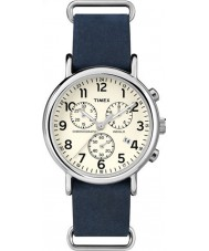 Timex TW2P62100 Weekender Blue Strap Chronograph Watch