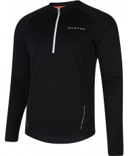 Dare2b DMT123-80090-XXL Mens Latitude Black Long Sleeve Top - Size XXL
