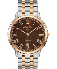 Roamer 515810-49-05-50 Mens Superslender Two Tone Steel Bracelet Watch