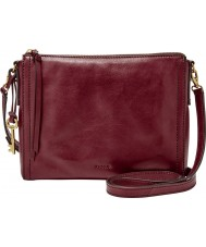 Fossil ZB6842609 Ladies Emma Wine Cross Body Bag