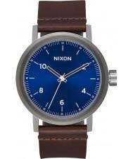 Nixon A1194-2301 Mens Stark Leather Watch