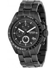 Fossil CH2601 Mens Decker Black Chronograph Watch