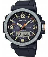 Casio PRG-600-1ER Mens Pro Trek Solar Powered Black Digital Watch