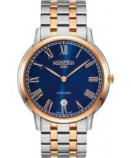 Roamer 515810-49-42-50 Mens Superslender Two Tone Steel Bracelet Watch