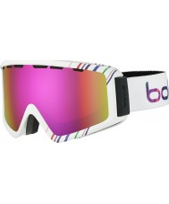 Bolle 21497 Z5 OTG Shiny White and Pink - Rose Gold Ski Goggles