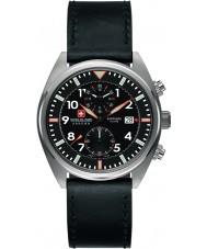 Swiss Military 6-4227-04-007 Mens Airborne Black Chronograph Watch