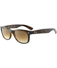RayBan RB2132 55 New Wayfarer Light Tortoiseshell 710-51 Sunglasses