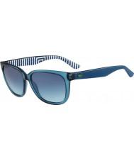 Lacoste Ladies L710S Blue Petroleum Sunglasses