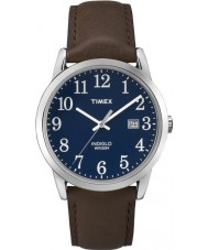 Timex TW2P75900 Mens Easy Reader Blue Brown Watch