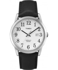 Timex TW2P75600 Mens Easy Reader Black Leather Strap Watch