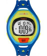 Timex TW5M01600 Ironman 150-Lap Full Size Sleek Blue Resin Strap Chronograph Watch